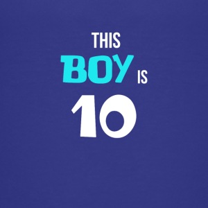 BDAY | THIS BOY IS 10 - Teenage Premium T-Shirt