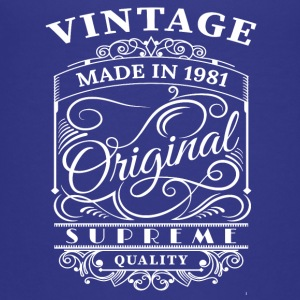 Vintage Made in 1981 Original - T-shirt Premium Ado