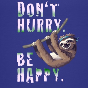 Sloth Slow chilling sleep lazy sloth Nerd spruc - Teenage Premium T-Shirt