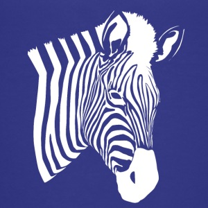 Zebra pattern - Teenage Premium T-Shirt