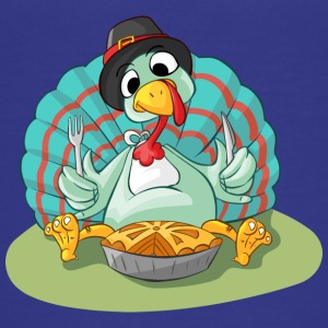 Turkije - Turkije - Gobbler Thanksgiving @ - Teenager Premium T-shirt
