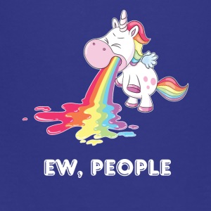 Ew, People, Unicorn - Teenage Premium T-Shirt