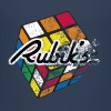Rubik's Cube Distressed - Teenage Premium T-Shirt