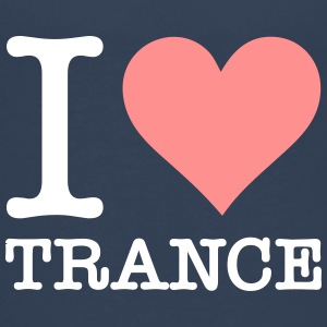 I Love Trance - Teenage Premium T-Shirt