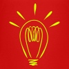 Light bulb - Teenage Premium T-Shirt