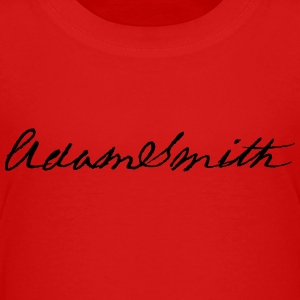 Adam Smith signatur 1783 - Premium-T-shirt tonåring