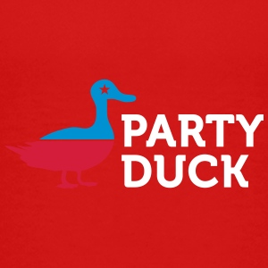 Political Party Animals: Duck - Teenage Premium T-Shirt