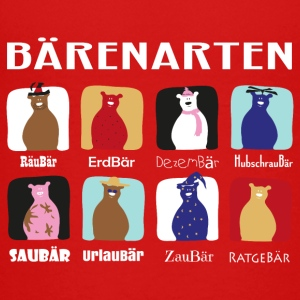 Bärenarten - Teenager Premium T-Shirt