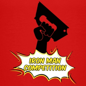 Iron Man Competition - Bügeleisen Mann Wettbewerb - Teenager Premium T-Shirt