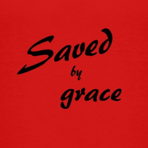 Saved by grace - Teenage Premium T-Shirt