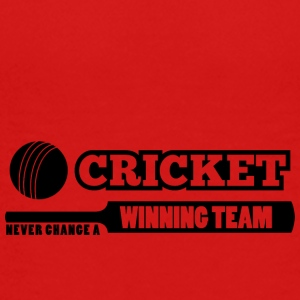 cricket never change a winning team - Teenager Premium T-shirt