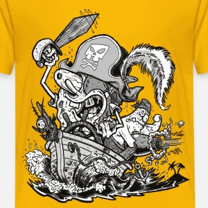 Teenagers' Premium Shirt Pirate SpongeBob