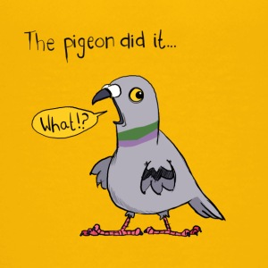 Blame The Pigeon - Teenager Premium T-shirt