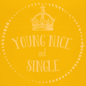 Young Nice and SINGLE - Teenage Premium T-Shirt