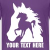 Horse Shadow - Teenage Premium T-Shirt
