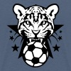 football leopards dent feroce logo club - T-shirt Premium Ado