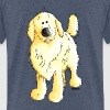 Funny Golden Retriever - Teenage Premium T-Shirt