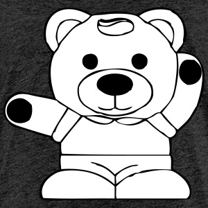 BRTeddybear - Teenage Premium T-Shirt