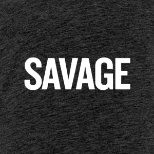 Savage White - Teenager Premium T-shirt