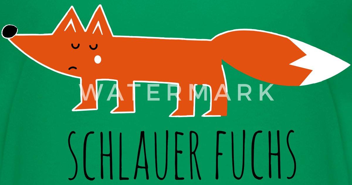 Schlauer Fuchs Cunning Fox Comic Lustige Spruche Teenager Premium T