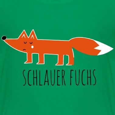 Lustige Hipster Swag Trendy Comic Cartoon Fuchs Kinder Bio T Shirt