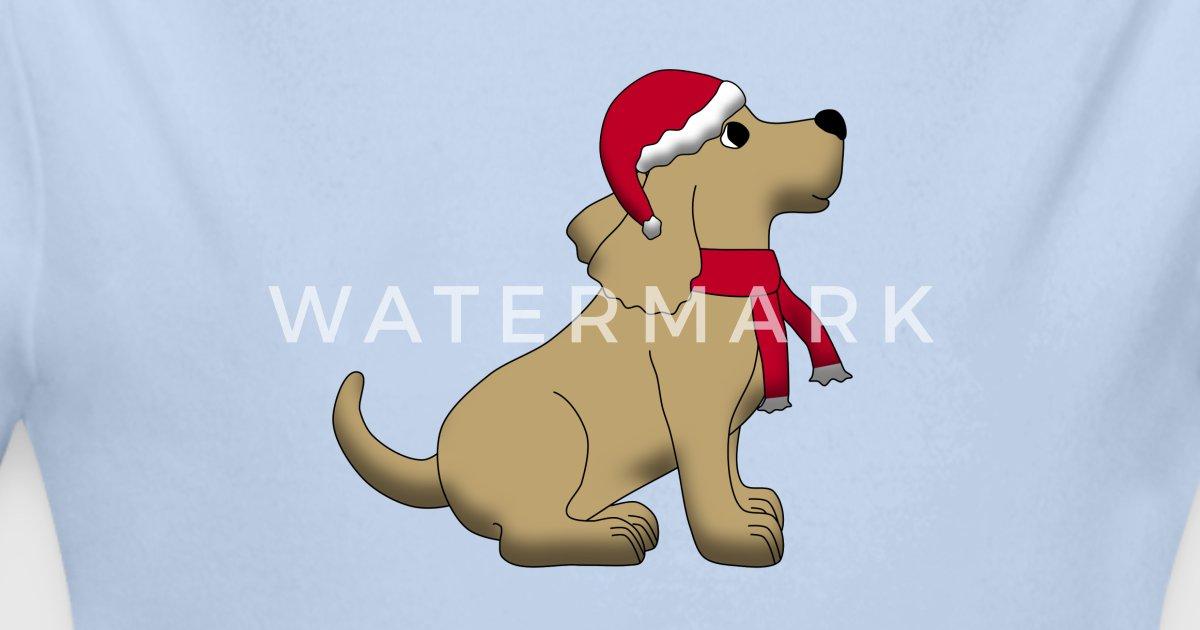 Weihnachtshund von Schnuppadoo | Spreadshirt