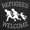 refugees welcome! - Baby Bio-Langarm-Body