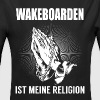 Wakeboard - ma religion - Body bébé bio manches longues