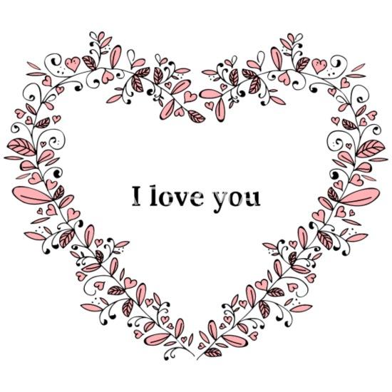 Ich Liebe Dich Liebeserklarung Beziehung Babymutze Spreadshirt