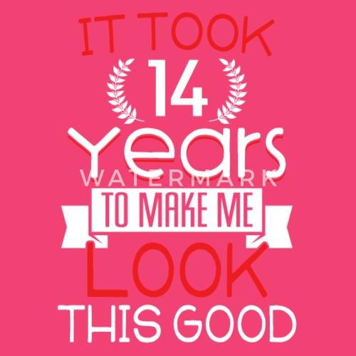 Geburtstag 14 Jahre Shirt Geburtstag Spruch Baby Langarmshirt