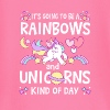 It's going to be Rainbows and Unicorns kind of day - Maglietta a manica lunga per bambini