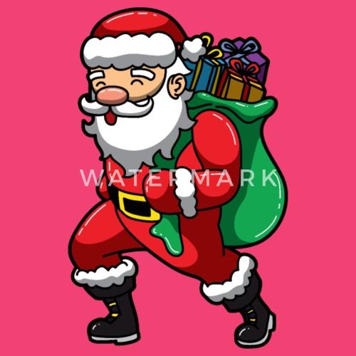 Weihnachtsmann Sankt Nikolaus Mit Geschenken Baby Langarmshirt