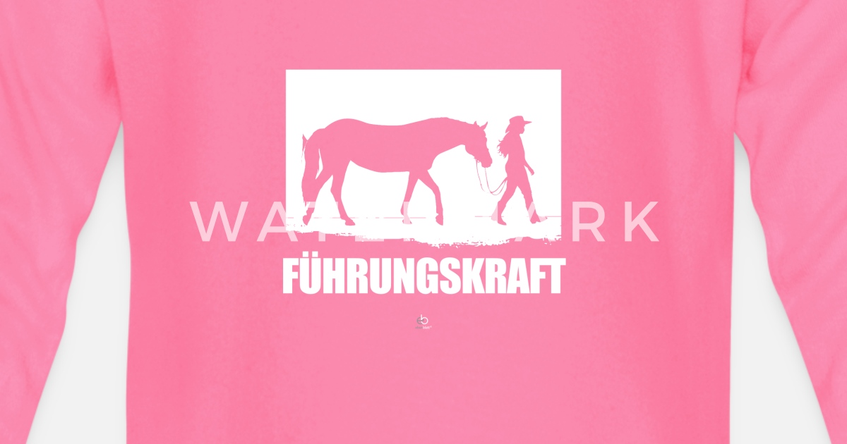 Fuhrungskraft Pferde Liebhaber Reiter Geschenk Baby Langarmshirt