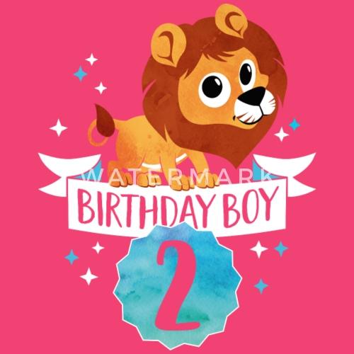 Feestvarken Twee Jaar 2 Verjaardag Geschenklowe Baby Longsleeve
