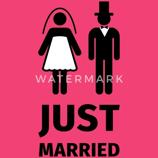 just married Langarmet baby T skjorte   Spreadshirt
