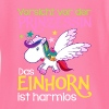 Attention princesse - Unicorn est inoffensif - T-shirt manches longues Bébé