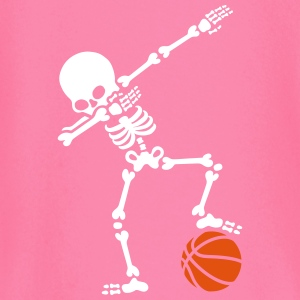 Dab dabbing skeleton football basketball
