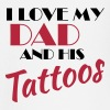 I love my dad and his tattos - Langarmet baby-T-skjorte