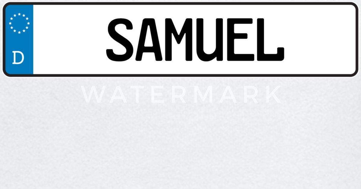 Samuel navneskilt gave Langarmet baby T skjorte   Spreadshirt