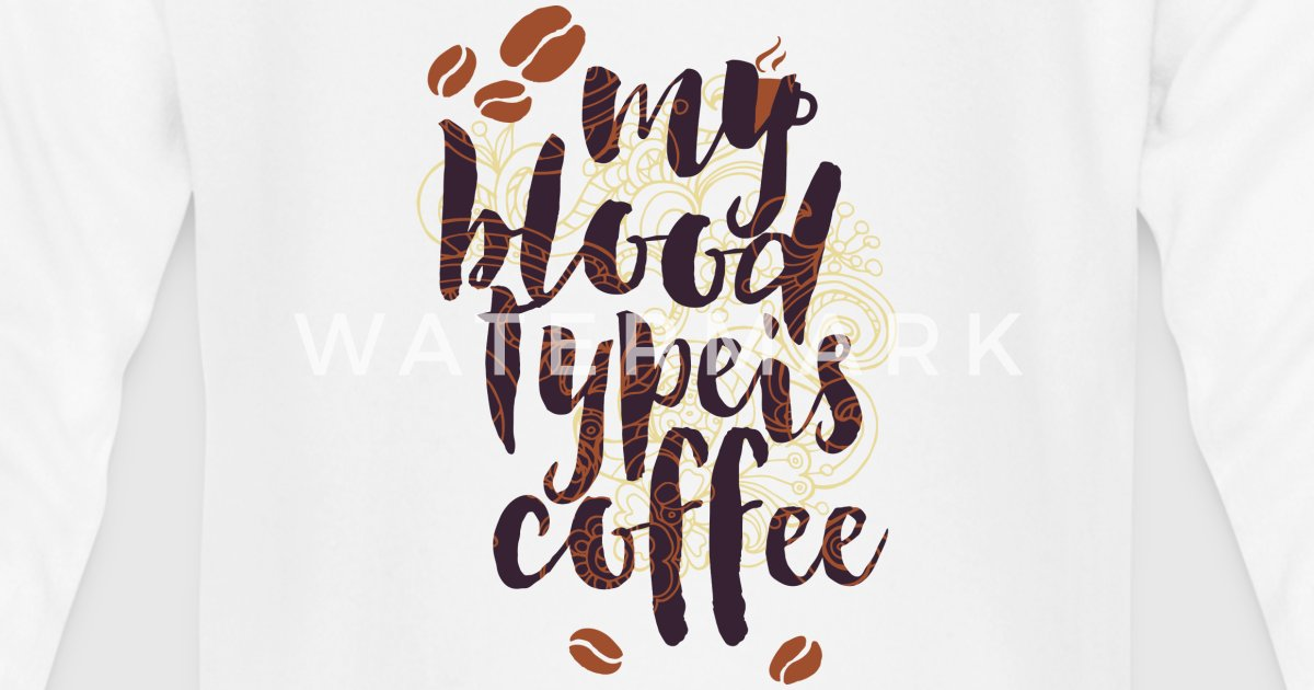 Mi tipo de sangre es somier sangre café sangre grupo por UtArt ...