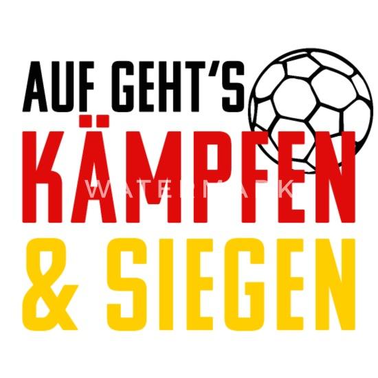 2587d2d215 Handball Kämpfen und Siegen. Handballer Geschenk Baby Langarmshirt ...