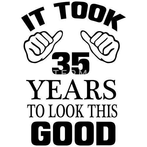 35e Verjaardag Baby Longsleeve Spreadshirt
