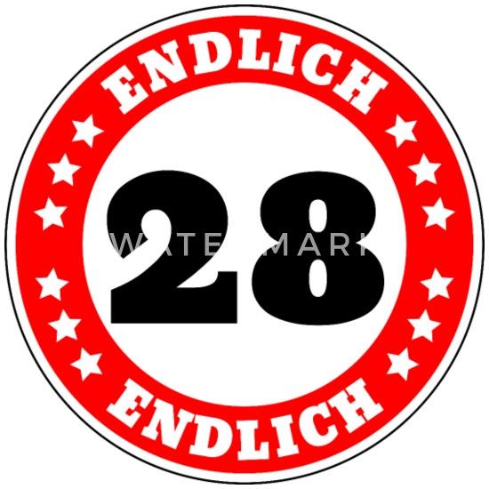 Glucklicher 28 Geburtstag Titel Dunkel Leinwandbilder Bilder