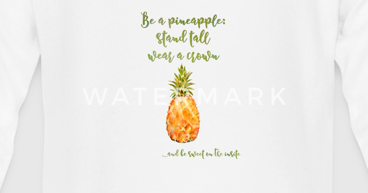 Ananas Spruch