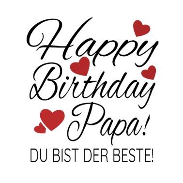 happy birthday papa bilder - vorlagen zum ausmalen gratis ausdrucken