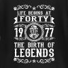 1977 - 40 years - Legends - 2017 - Baby Long Sleeve T-Shirt
