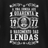 1977 - 40 anos - Lendas - 2017 - Baby Long Sleeve T-Shirt
