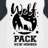 Wolf pack new member  - Kids' Baseball T-Shirt