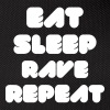 EAT SLEEP RAVE REPEAT - Gürteltasche