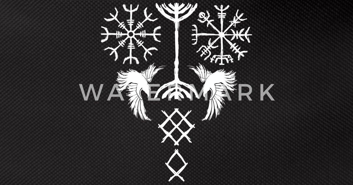 Mythologie tattoo nordische Wikinger Tattoo